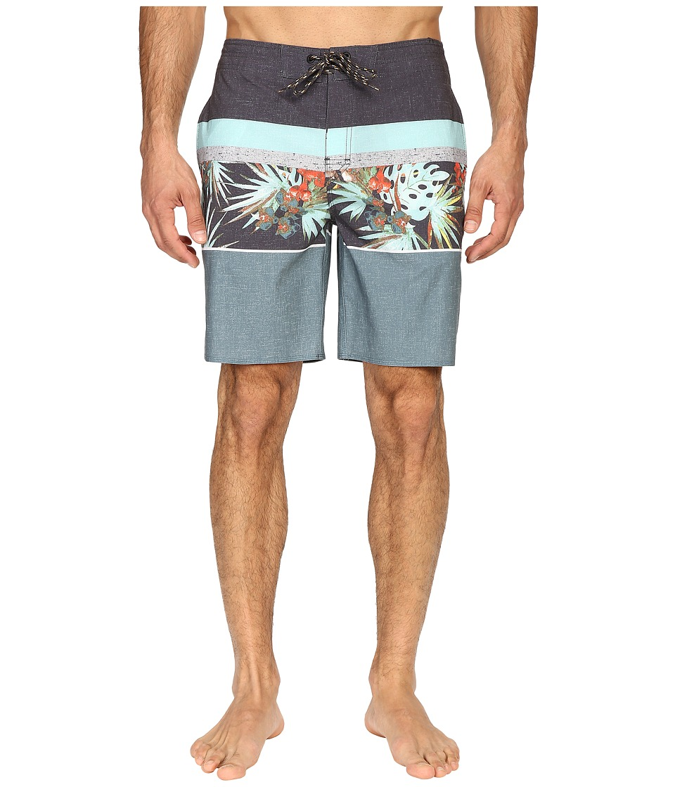 Rip Curl - Eufloria Boardshorts (Black) Men's Swimwear