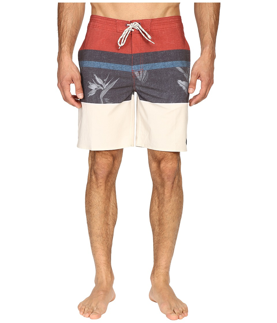 Rip Curl - Eufloria Boardshorts (Red) Men's Swimwear