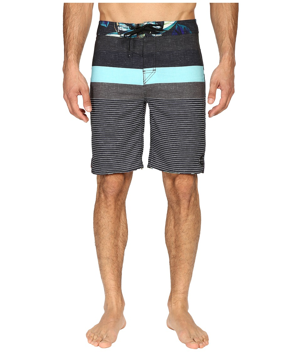 Rip Curl - Mirage Contour Boardshorts (Black) Men's Swimwear