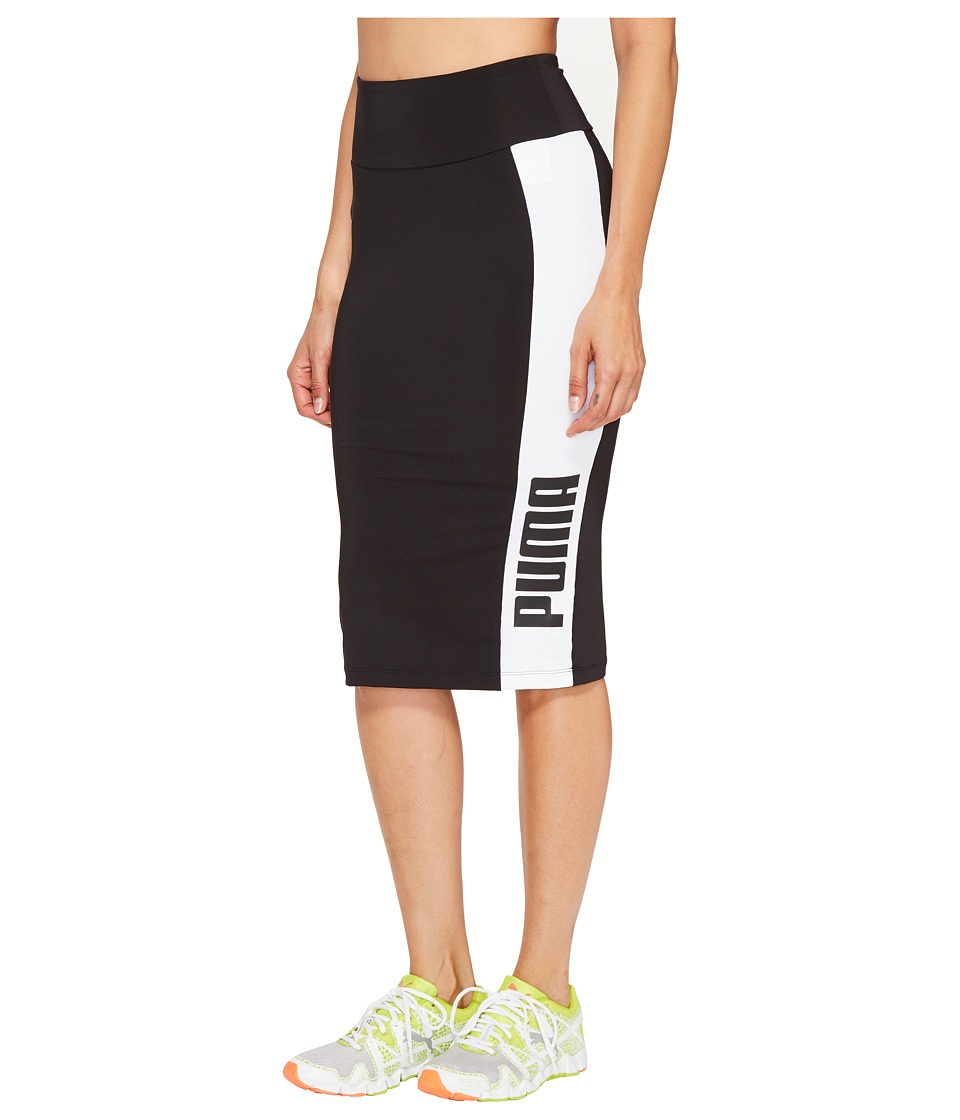 PUMA - Archive Logo Pencil Skirt (PUMA Black) Women's Skirt