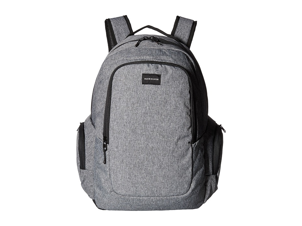 Quiksilver - Schoolie (Light Grey Heather) Backpack Bags