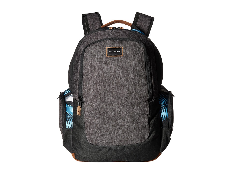 Quiksilver - Schoolie (Bonnie Blue Classic Flower) Backpack Bags