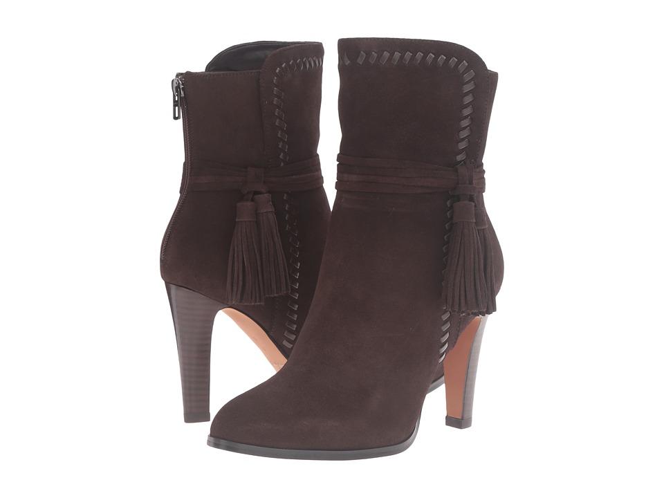COACH - Jessie (Chestnut/Chestnut Suede/Silky Nappa) Women's Shoes