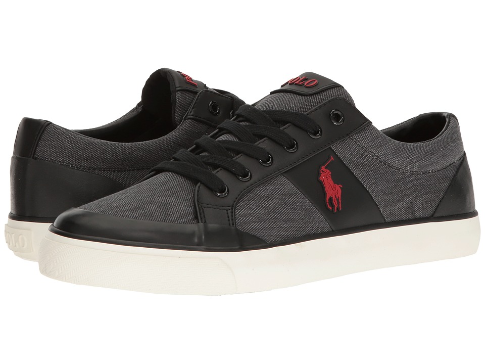 Polo Ralph Lauren - Ian (Black) Men's Shoes