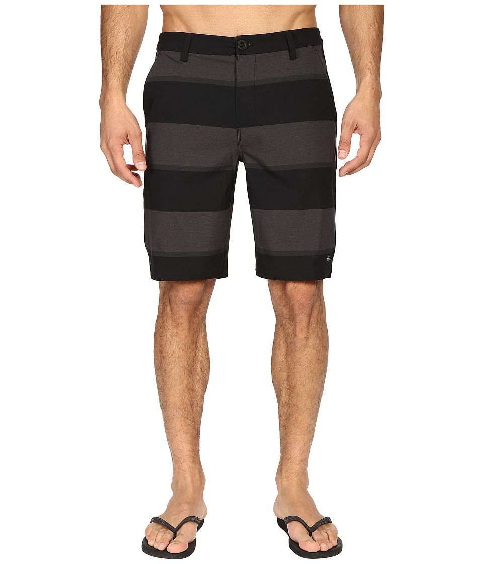 Rip Curl - Cut Two Boardwalk (Black) Men's Swimwear