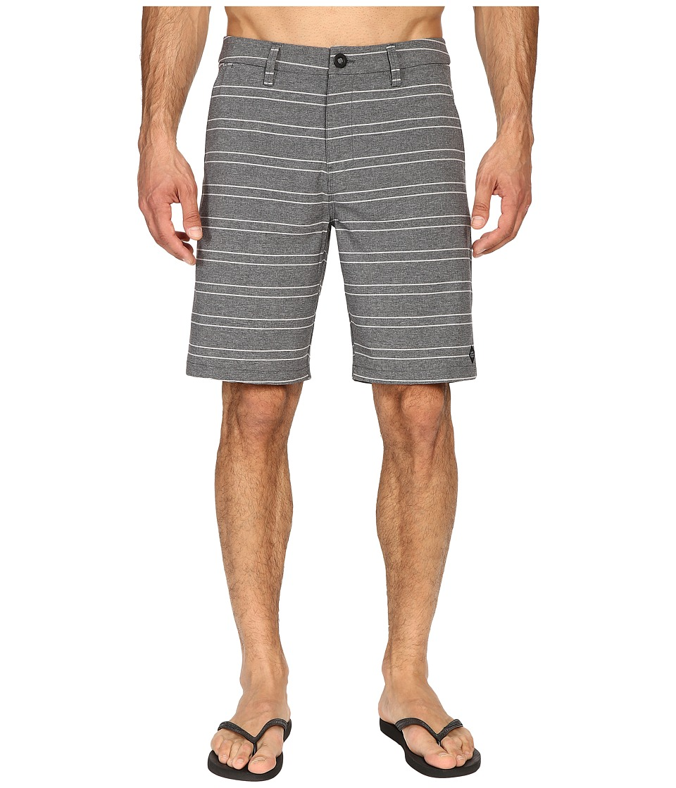 Rip Curl - Straight Line Boardwalk (Black) Men's Swimwear