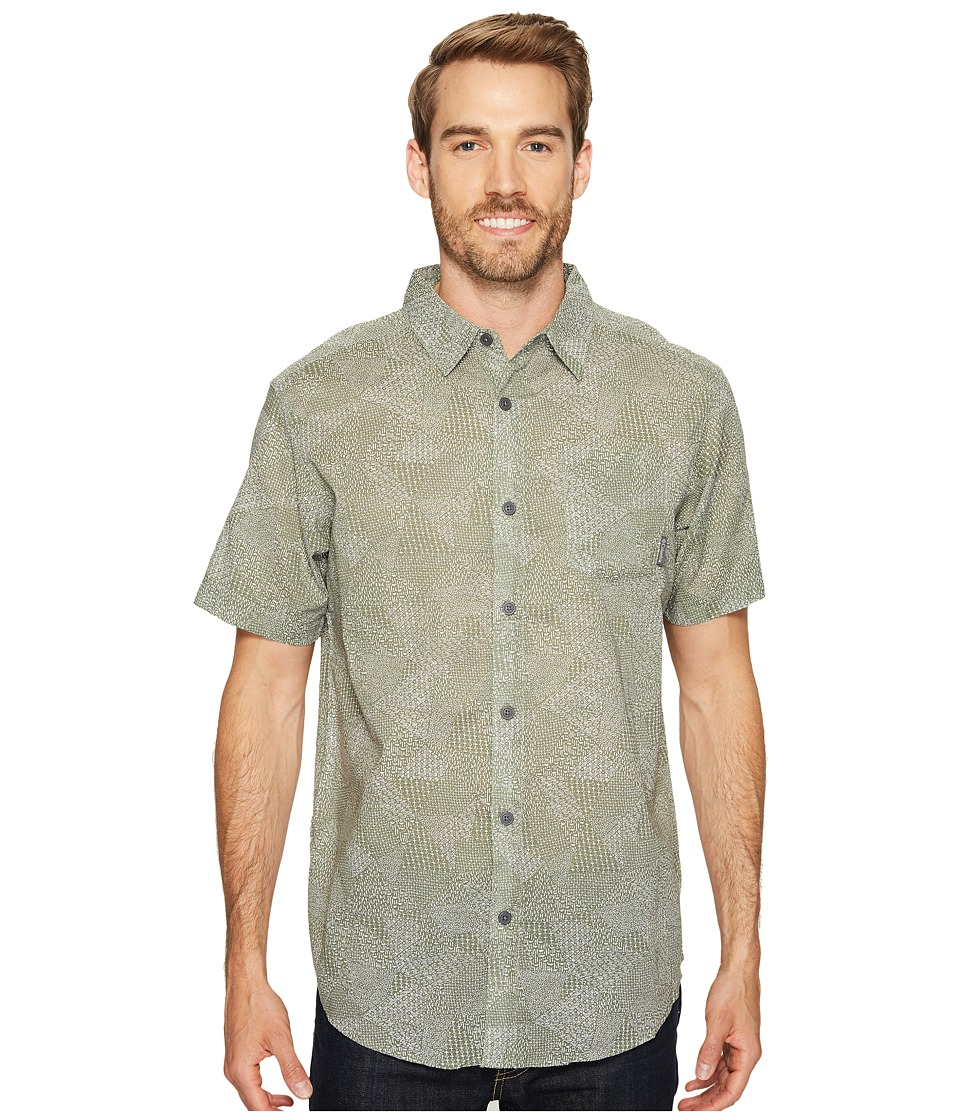Columbia - Under Exposure II Short Sleeve Shirt (Cypress Patch) Men's Clothing