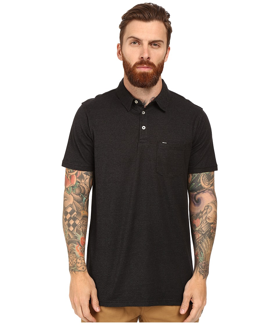 Rip Curl - Thorton Polo (Black) Men's Clothing