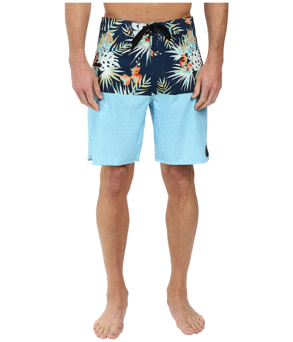 Rip Curl - Mirage Split Boardshorts (Blue Grey) Men's Swimwear