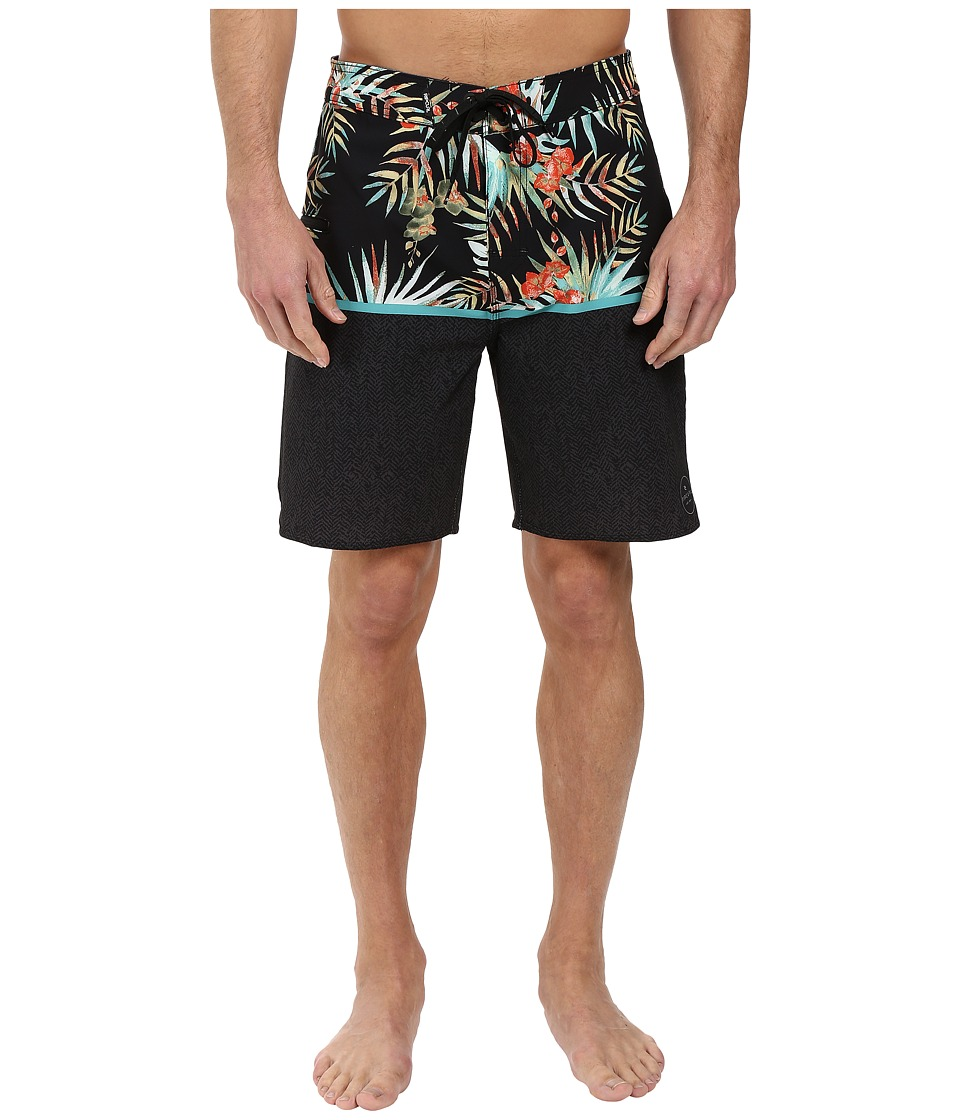Rip Curl - Mirage Split Boardshorts (Black) Men's Swimwear
