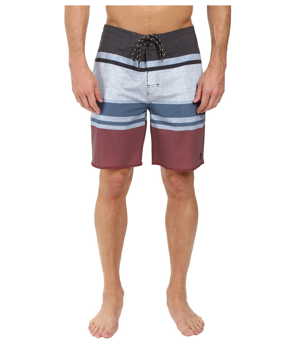 Rip Curl - Rapture Stripe Boardshorts (Blue Grey) Men's Swimwear