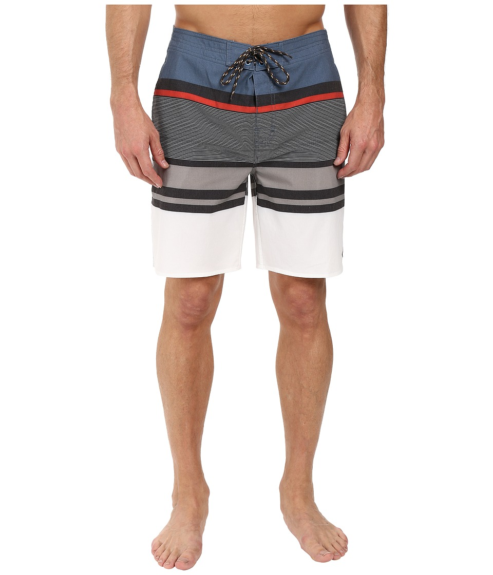Rip Curl - Rapture Stripe Boardshorts (Blue) Men's Swimwear