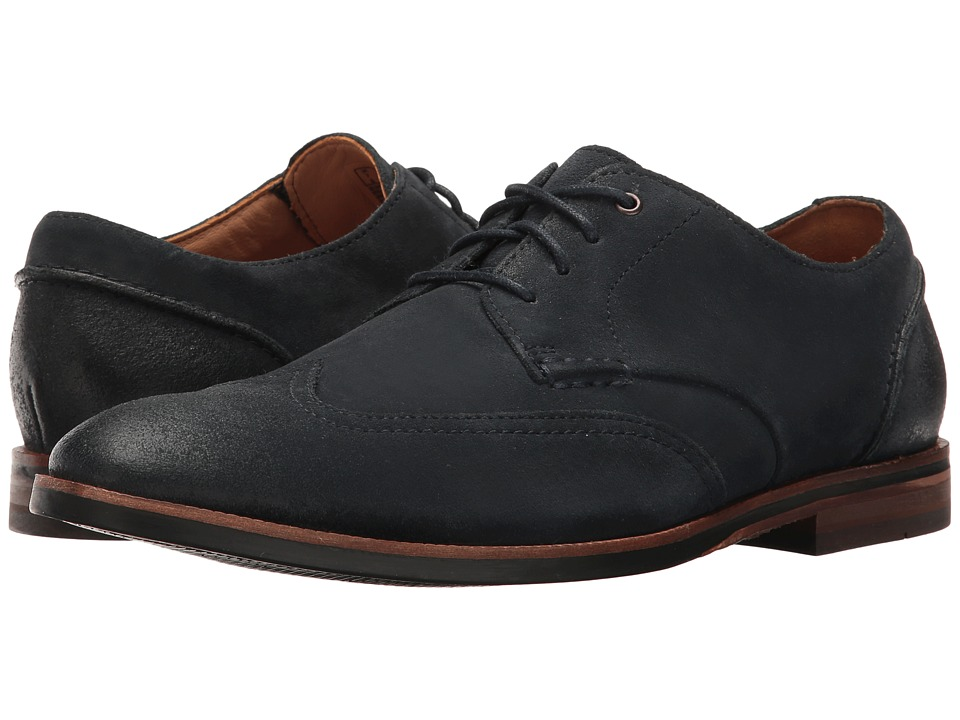 Clarks - Broyd Wing (Navy Suede) Men's Shoes