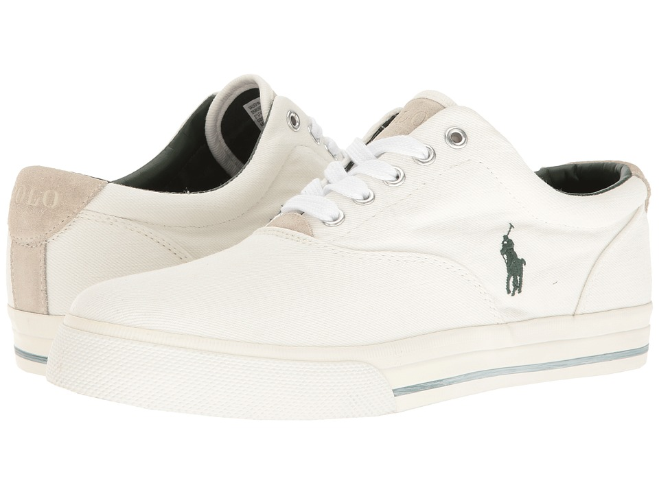 Polo Ralph Lauren - Vaughn (White) Men's Shoes