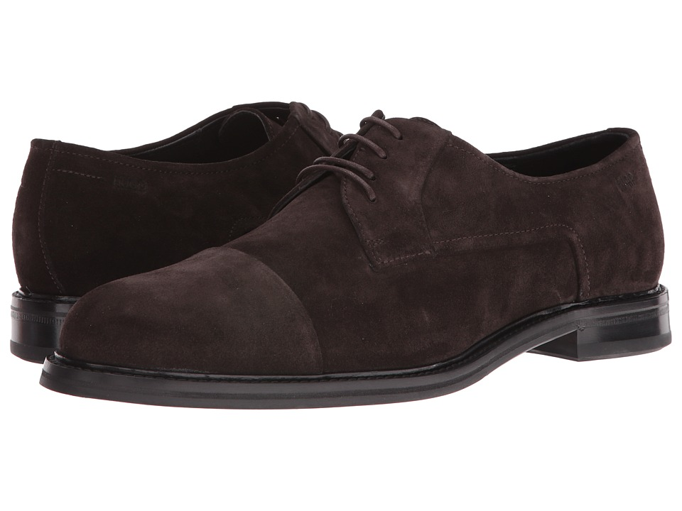 BOSS Hugo Boss Neoclass Derby by BOSS Green (Dark Brown) Men
