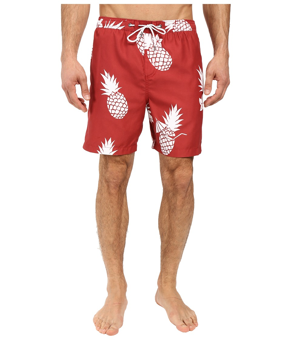 Jack O'Neill - Colada Volley Boardshorts (Red Brick) Men's Swimwear