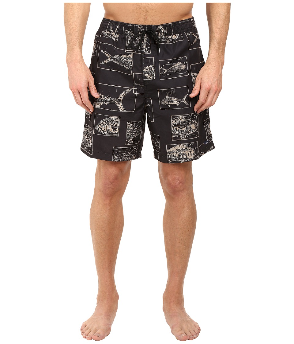 Jack O'Neill - Gone Fishin Volley Boardshorts (Khaki) Men's Swimwear