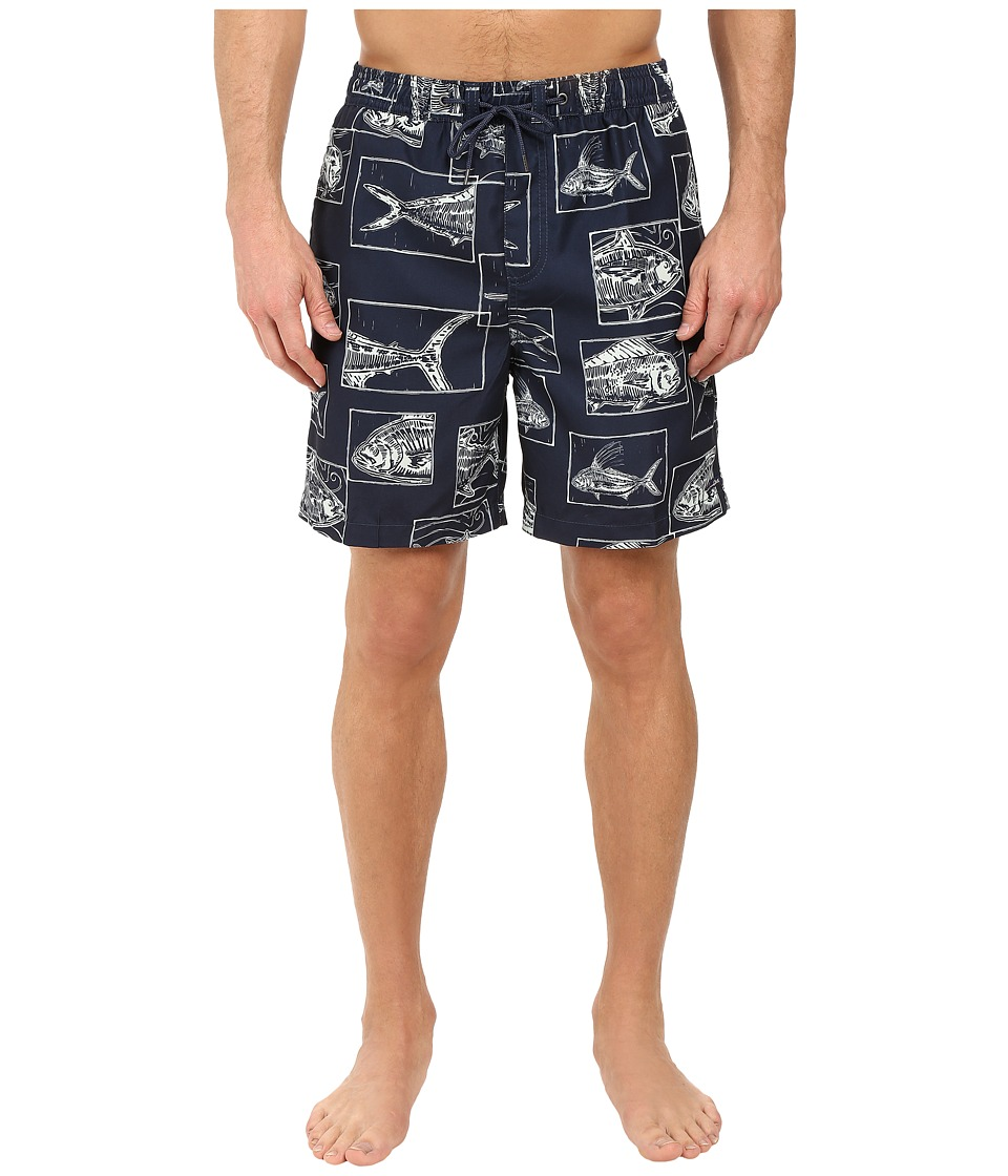 Jack O'Neill - Gone Fishin Volley Boardshorts (Navy) Men's Swimwear