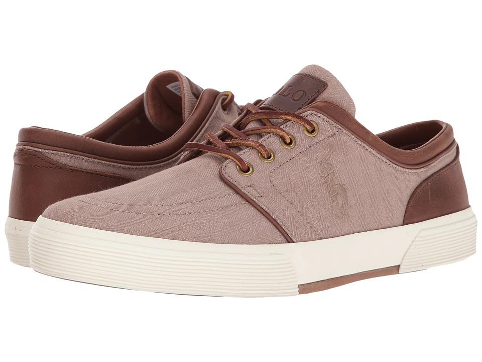 Polo Ralph Lauren Faxon Low (Khaki/Light Tan) Men's Shoes