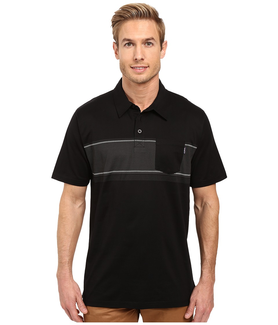 Jack O'Neill - Laguna Knits (Black) Men's Short Sleeve Knit