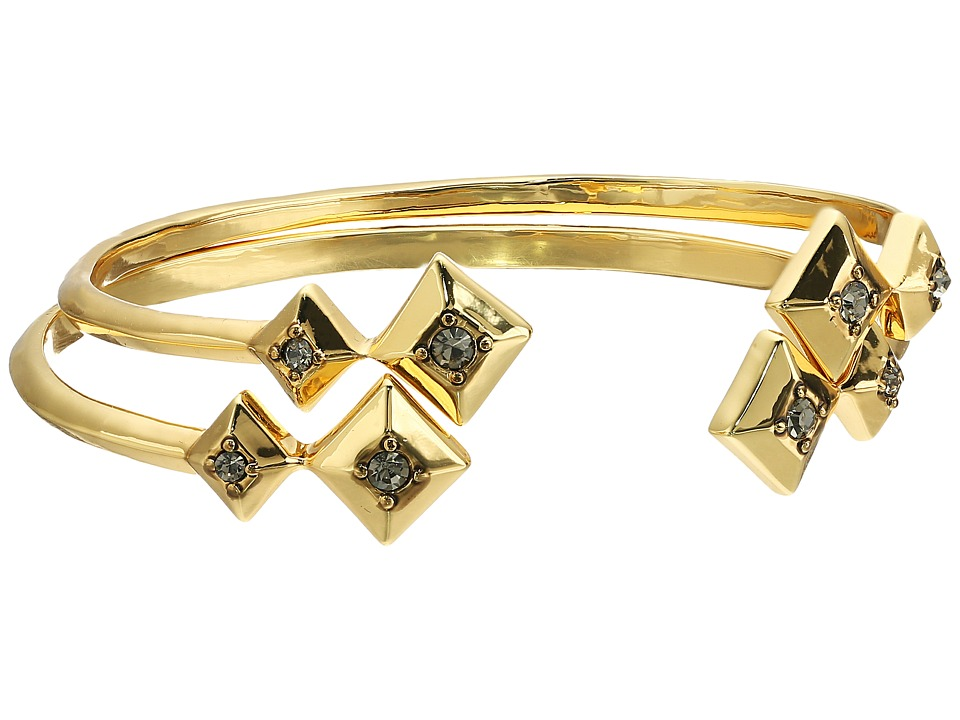 House of Harlow 1960 - The Lyra Cuff Bracelet Set (Gold) Bracelet
