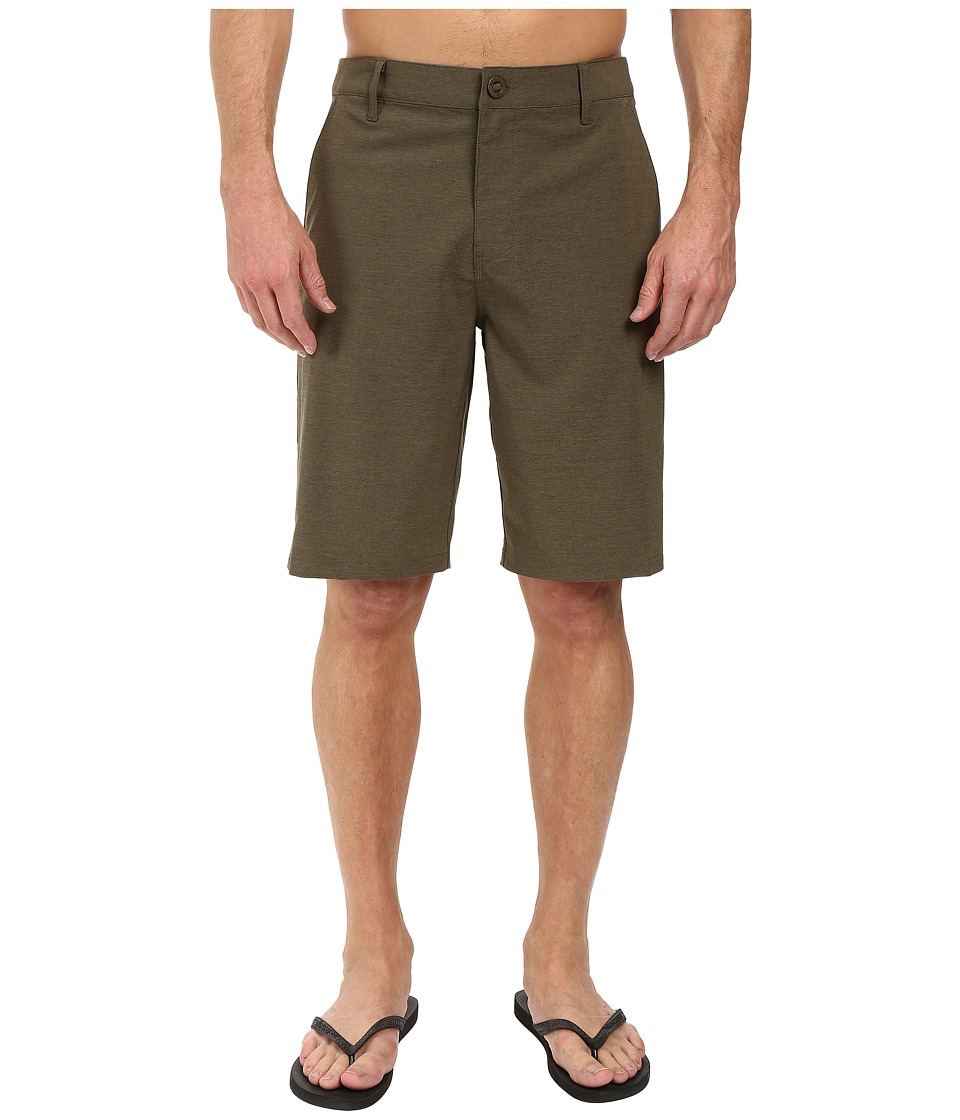 Rip Curl - Mirage Phase Boardwalk Walkshorts (Military Green) Men's Shorts