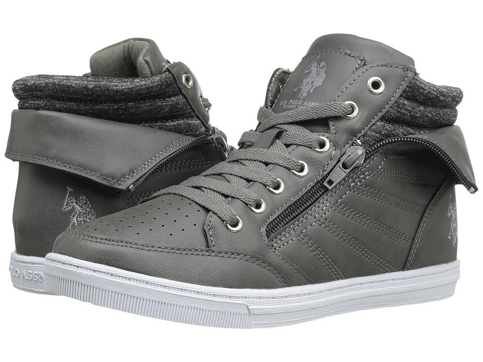 U.S. POLO ASSN. - Mila (Dark Grey/Dark Grey Heather Jersey) Women's Shoes