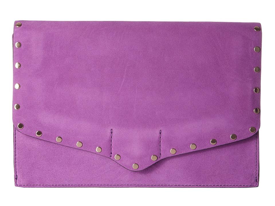 Rebecca Minkoff - Biker Clutch (Purple Rain) Clutch Handbags