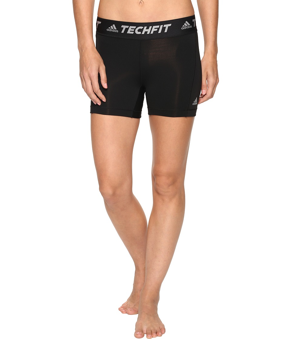 adidas - Techfit Base Short Tights (Black) Women's Shorts
