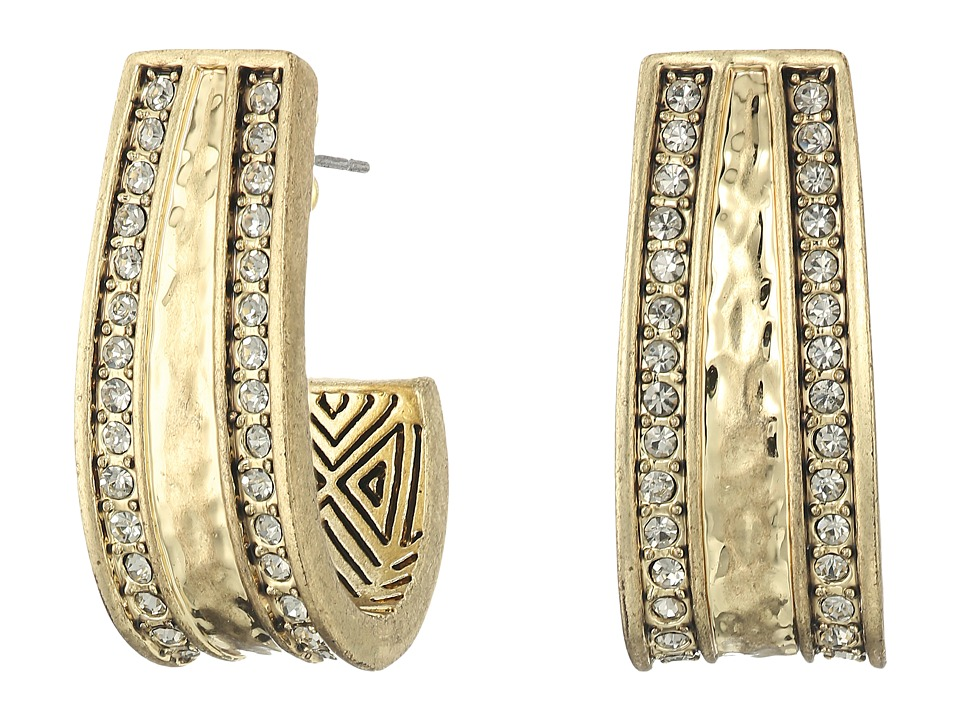 House of Harlow 1960 - Helicon Statement Earrings (Gold) Earring