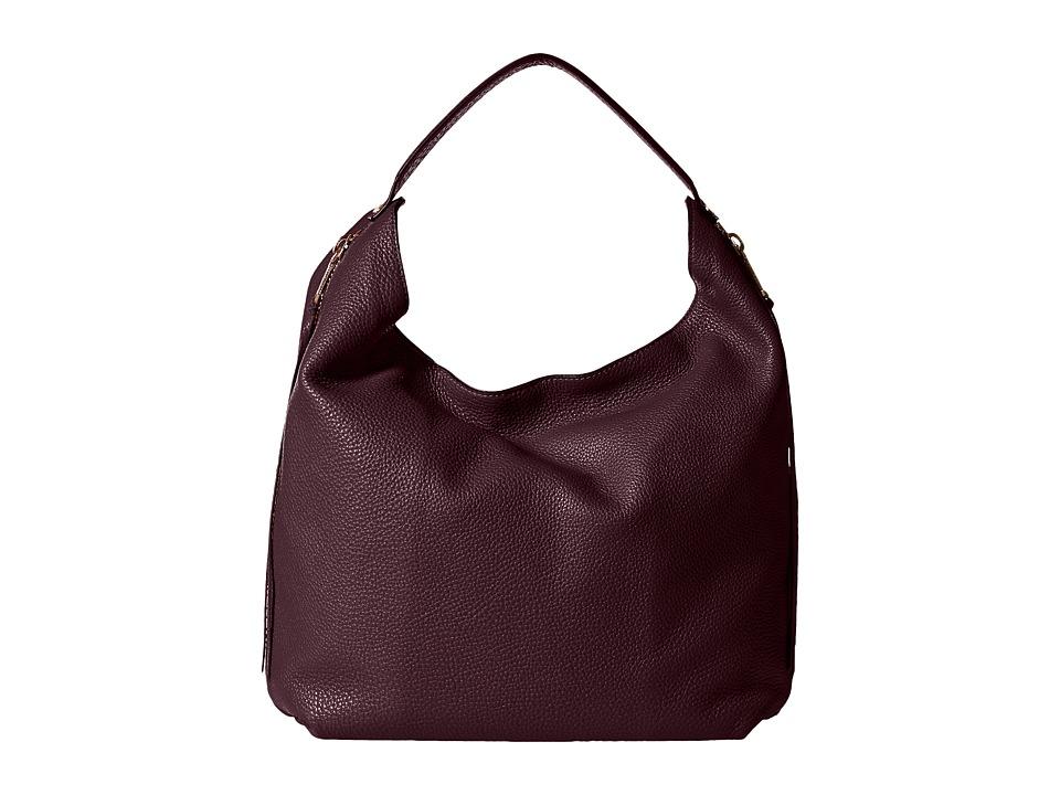Rebecca Minkoff - Bryn Double Zip Hobo (Dark Cherry) Hobo Handbags