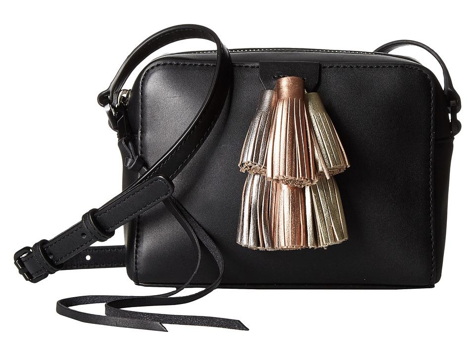 Rebecca Minkoff - Mini Sofia Crossbody (Black Metallic Multi) Cross Body Handbags