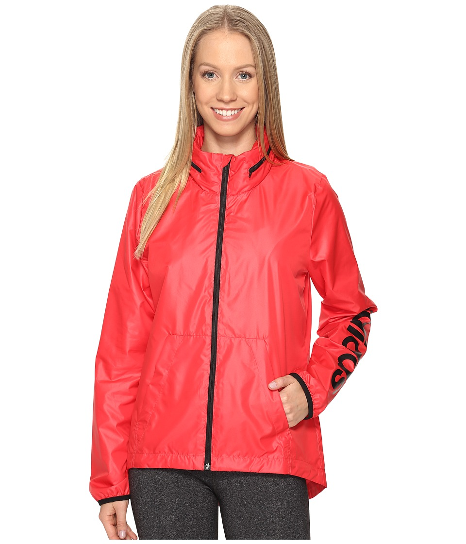 adidas - Linear Windbreaker (Core Pink) Women's Coat