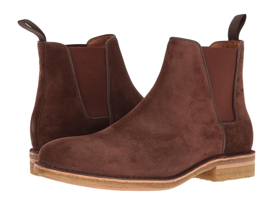 Aquatalia - Oscar (Brown Dress Suede) Men's Boots