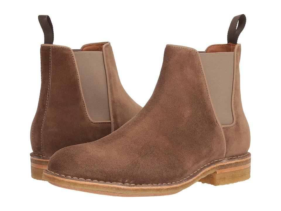 Aquatalia - Oscar (Taupe Dress Suede) Men's Boots
