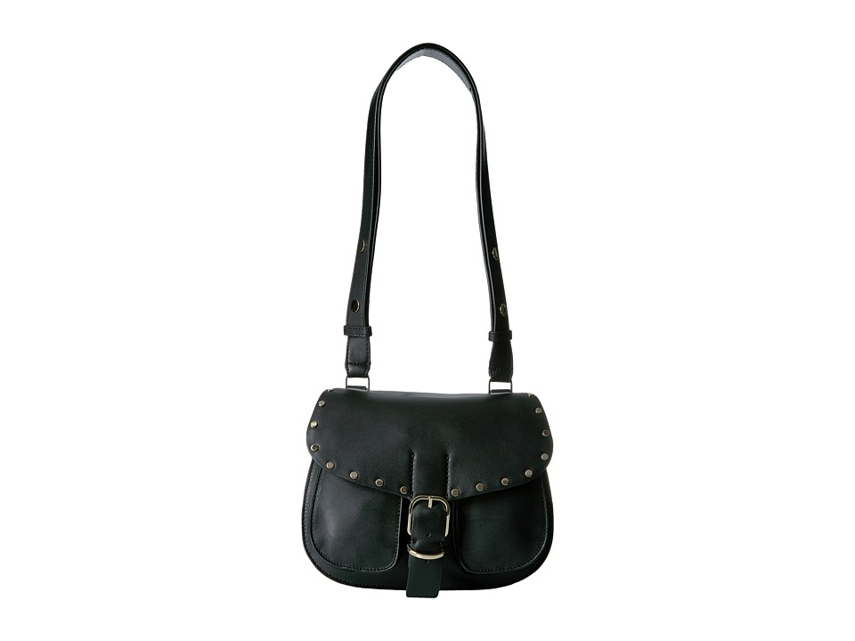 Rebecca Minkoff - Biker Saddle Bag (Black) Bags