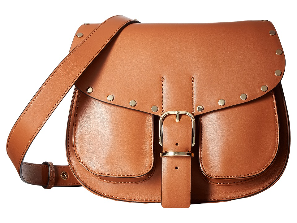 Rebecca Minkoff - Biker Saddle Bag (Almond) Bags