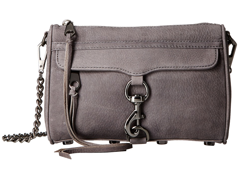 Rebecca Minkoff - Mini Mac (New Grey) Cross Body Handbags