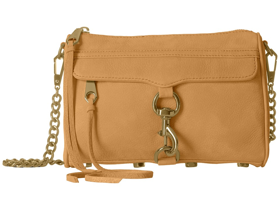 Rebecca Minkoff - Mini Mac (Almond 2) Cross Body Handbags