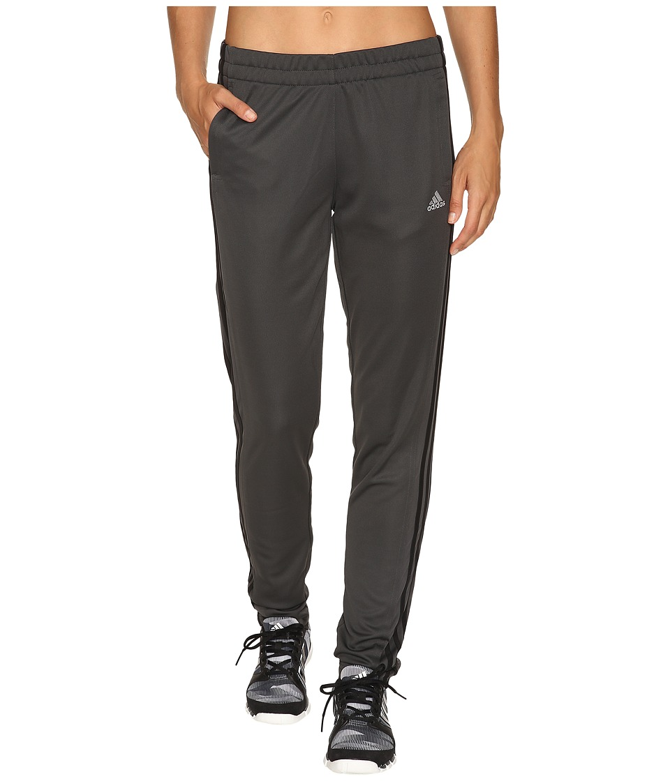 adidas - T10 Pants (Dark Grey Heather Solid Grey/Black) Women's Casual Pants