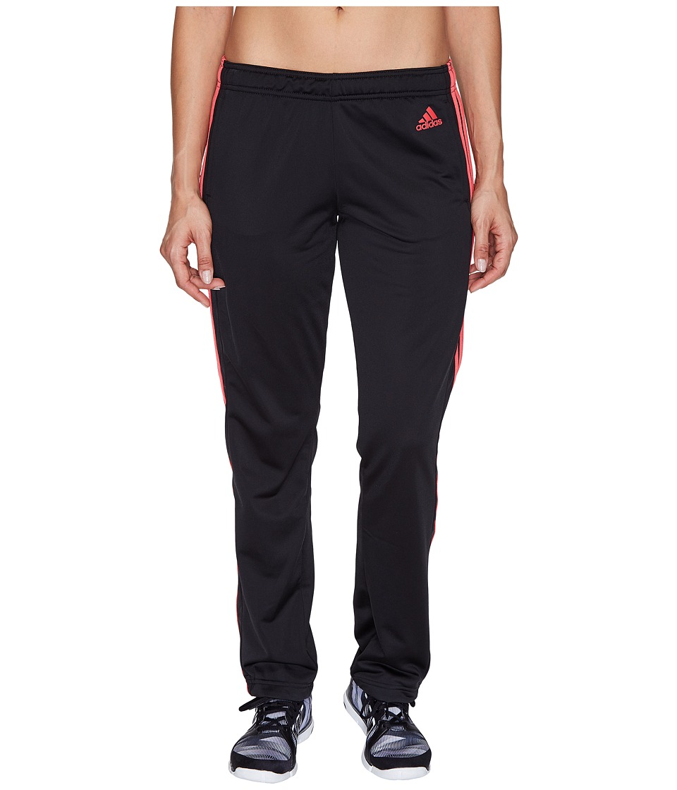 adidas - Designed-2-Move Straight Pants (Black/Core Pink) Women's Casual Pants