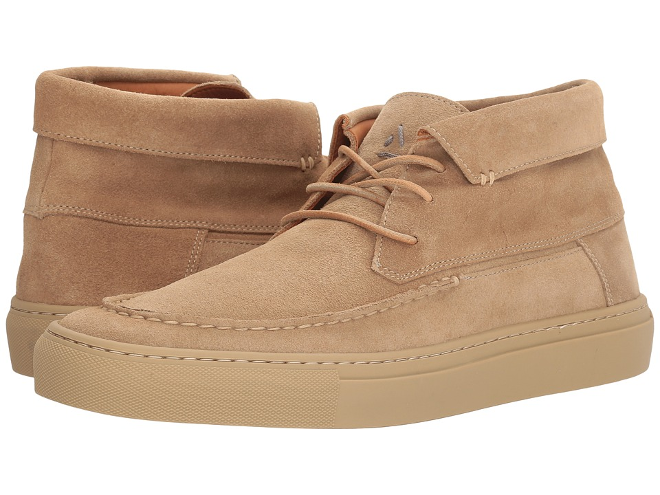 Image of Aquatalia - Alec (Tan Suede) Men's Lace up casual Shoes