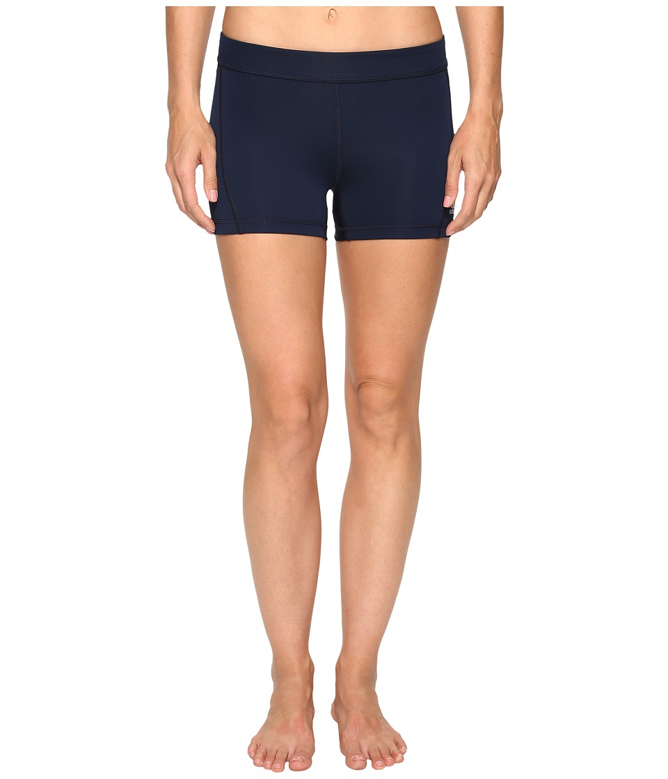adidas Techfit 3 Short Tights (Collegiate Navy/Matte Silver) Women