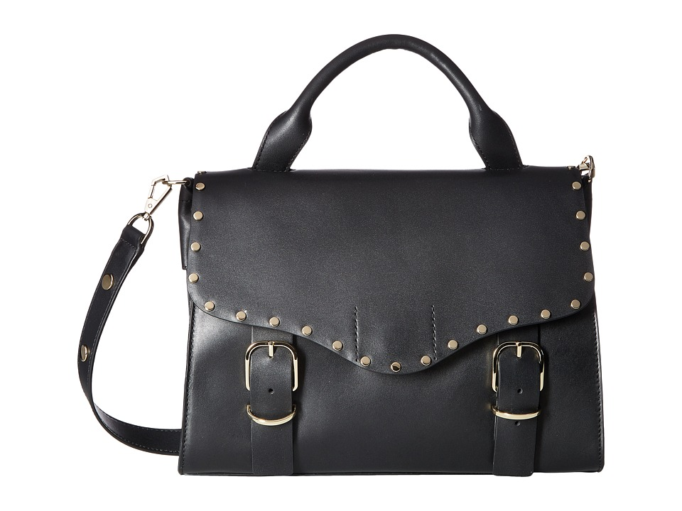 Rebecca Minkoff - Biker Doctor Bag (Black) Bags