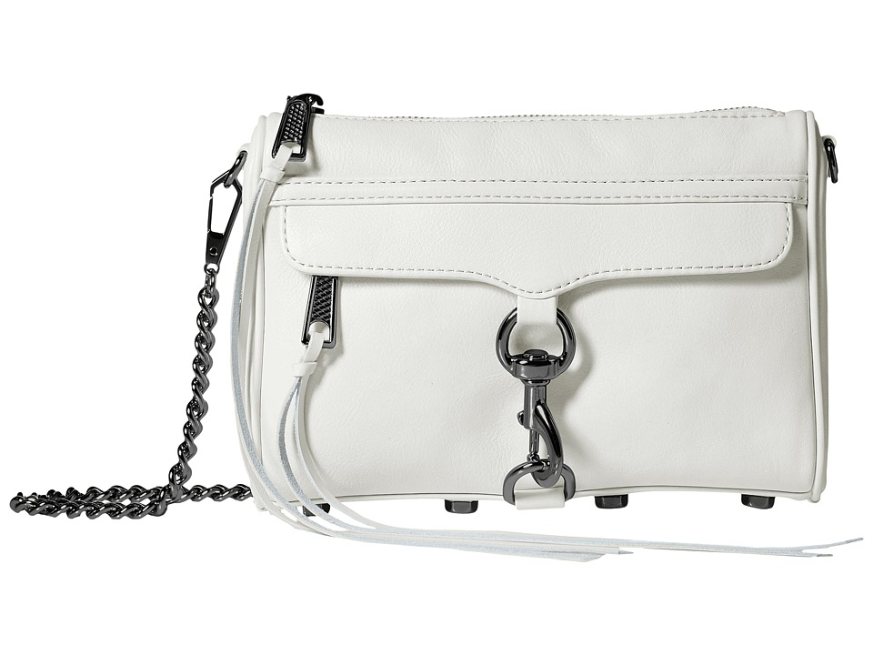 Rebecca Minkoff - Mini Mac (Antique White) Cross Body Handbags