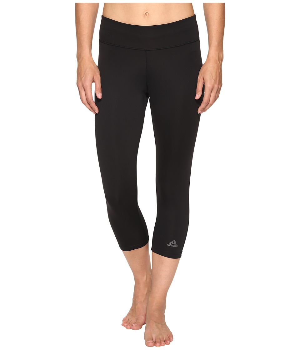 adidas - Designed-2-Move 3/4 Tights (Black) Women's Casual Pants