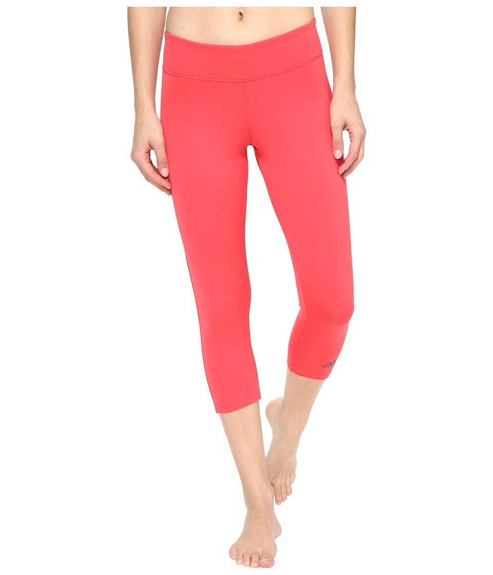 adidas - Designed-2-Move 3/4 Tights (Core Pink) Women's Casual Pants