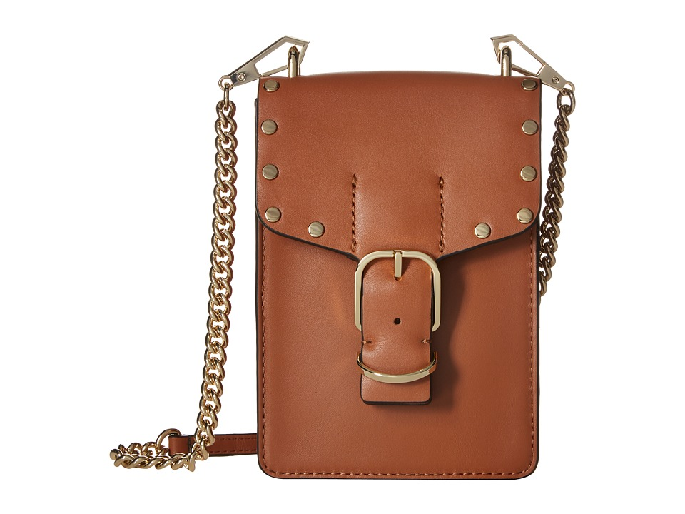 Rebecca Minkoff - Biker Phone Crossbody (Almond) Cross Body Handbags