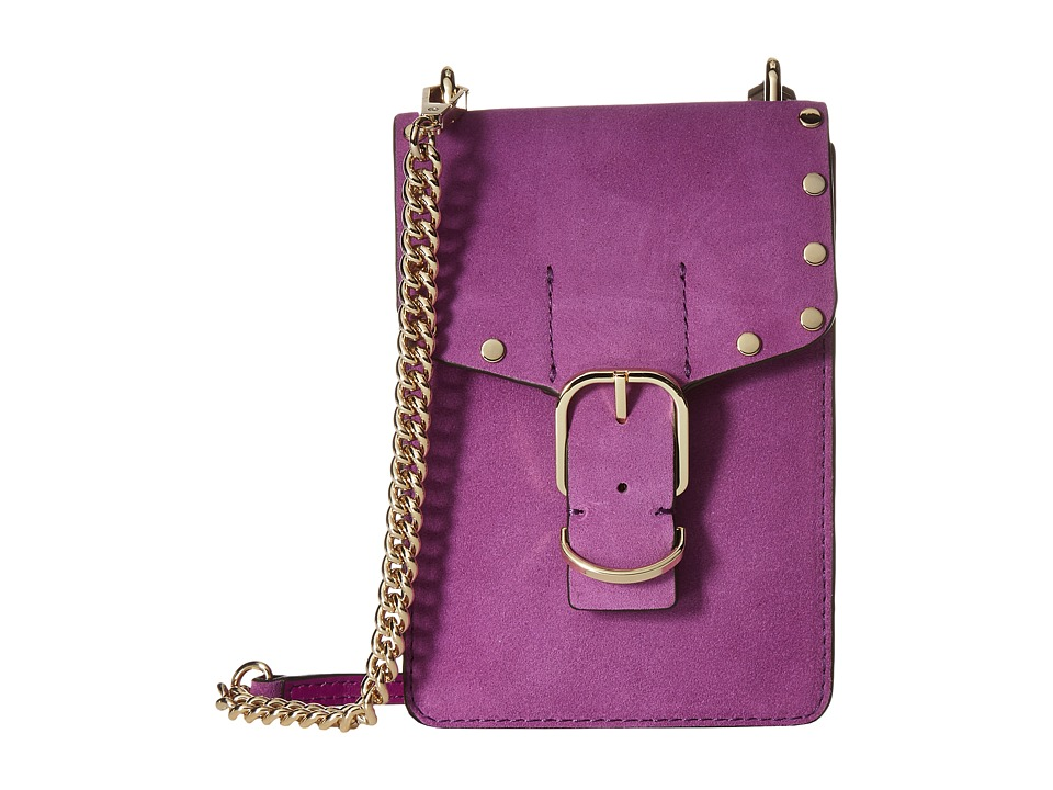 Rebecca Minkoff - Biker Phone Crossbody (Purple Rain) Cross Body Handbags