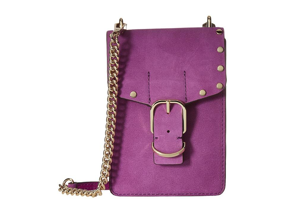 Rebecca Minkoff - Biker Phone Crossbody (Purple Rain) Cross Body Handbags
